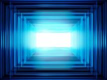 Błękitna abstrakcja dla projektantów fotografia stock