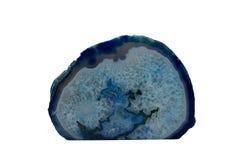 Błękitna agat geoda Obraz Stock
