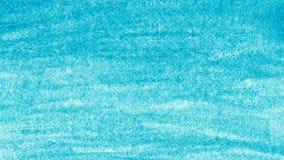 Błękitna akwarela na papier skanującym tle Obraz Stock