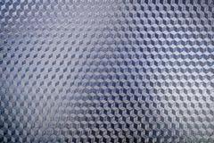 Błękitna błyszcząca wzór powierzchnia metal Zdjęcie Royalty Free