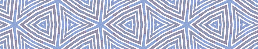 Błękitna Bezszwowa Rabatowa ślimacznica Geometryczna akwarela royalty ilustracja
