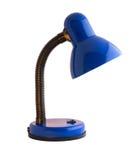Błękitna biurko lampa Zdjęcia Stock