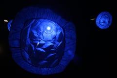 Błękitna Bożenarodzeniowa dekoracja Obraz Stock