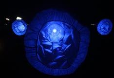 Błękitna Bożenarodzeniowa dekoracja Fotografia Royalty Free