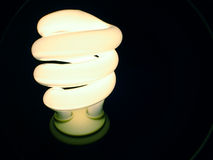 błękitna c fluorescencyjna lampa Obraz Royalty Free