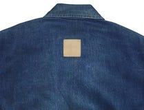 Błękitna cajgowa koszula Obrazy Royalty Free