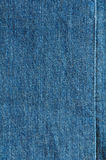 Błękitna cajgowa tekstura Zdjęcie Royalty Free