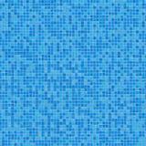 Błękitna Ceramiczna mozaika. Bezszwowa tekstura. Zdjęcia Royalty Free