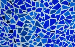 Błękitna Ceramiczna tekstura Obraz Royalty Free