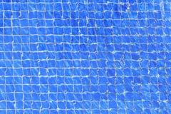 Błękitna czochry woda w pływackim basenie Zdjęcia Stock