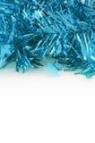 Błękitna dekoracja dla bożych narodzeń i nowego roku zdjęcie stock