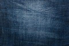 Błękitna demin cajgów tekstura Obraz Stock