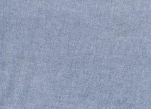 Błękitna drelichowa tekstylna tekstura Zdjęcie Royalty Free