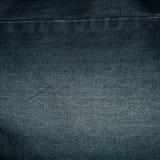 Błękitna drelichowa tkanina dla spodń Zdjęcie Stock