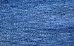 Błękitna drelichu lub cajgów tekstura Obrazy Stock