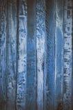 Błękitna drewniana abstrakcjonistyczna tekstura Błękitny rocznika drewna tło Abstrakcjonistyczna tekstura i tło dla projektantów  Obrazy Royalty Free
