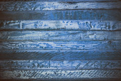 Błękitna drewniana abstrakcjonistyczna tekstura Błękitny rocznika drewna tło Abstrakcjonistyczna tekstura i tło dla projektantów  Fotografia Royalty Free