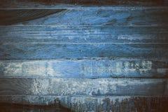 Błękitna drewniana abstrakcjonistyczna tekstura Błękitny rocznika drewna tło Abstrakcjonistyczna tekstura i tło dla projektantów  Obraz Royalty Free