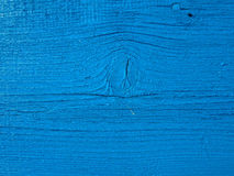 Błękitna drewniana deska Zdjęcia Royalty Free