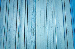 Błękitna drewniana deski powierzchni tekstura Obrazy Stock