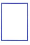 Błękitna drewniana rama fotografia stock