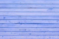 Błękitna drewniana tekstura Zdjęcie Royalty Free