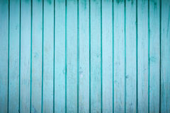 Błękitna drewniana tekstura Fotografia Royalty Free