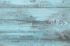 Błękitna drewniana tekstura, rocznika tło zdjęcia royalty free