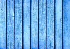 Błękitna drewno deski tekstura Obrazy Royalty Free
