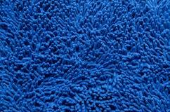 Błękitna dywanowa tekstura fotografia stock