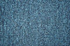 Błękitna dywanowa tekstura Zdjęcia Stock