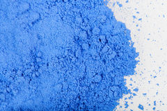 Błękitna farba Obrazy Royalty Free