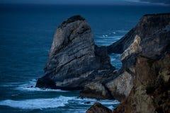 Błękitna godzina przy przylądkiem Cabo da Roca obraz stock