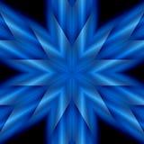 błękitna gwiazda Obraz Stock