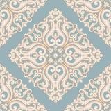Błękitna i beżowa pastelowa tekstura z perłami royalty ilustracja