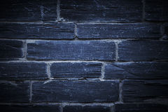 Błękitna kamienna ściana Obrazy Royalty Free