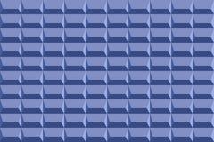 Błękitna kamiennej ściany tekstura z cienia cienia wektorowym wzorem Fotografia Royalty Free