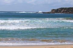Błękitna kipiel i morze obrazy royalty free