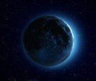 Błękitna księżyc Zdjęcie Stock