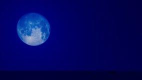 Błękitna księżyc 03 Fotografia Royalty Free