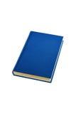 błękitna księga fotografia stock