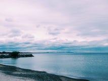 błękitna laguna Obraz Royalty Free