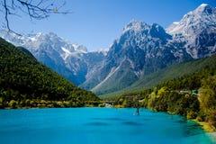 błękitna laguna Obrazy Stock