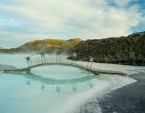 Błękitna laguna Iceland Obraz Stock