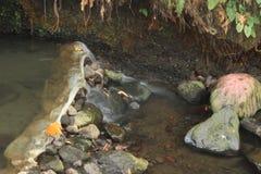 Błękitna laguna Indonezja - Rekreacyjny miejsce obrazy stock