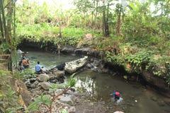 Błękitna laguna Indonezja - Rekreacyjny miejsce zdjęcia stock