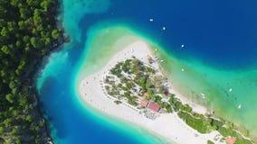 Błękitna laguna w Oludeniz, Turcja zdjęcie wideo