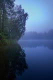 Błękitna melancholiczna natura zdjęcie royalty free