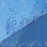 Błękitna melodia Obrazy Stock