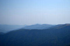 Błękitna mgiełka Zdjęcie Stock